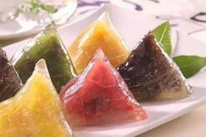 水晶粽子的做法和包法 水晶粽子原来是用西米包的