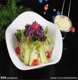 蔬菜沙拉的做法 好吃又瘦身蔬菜沙拉制作