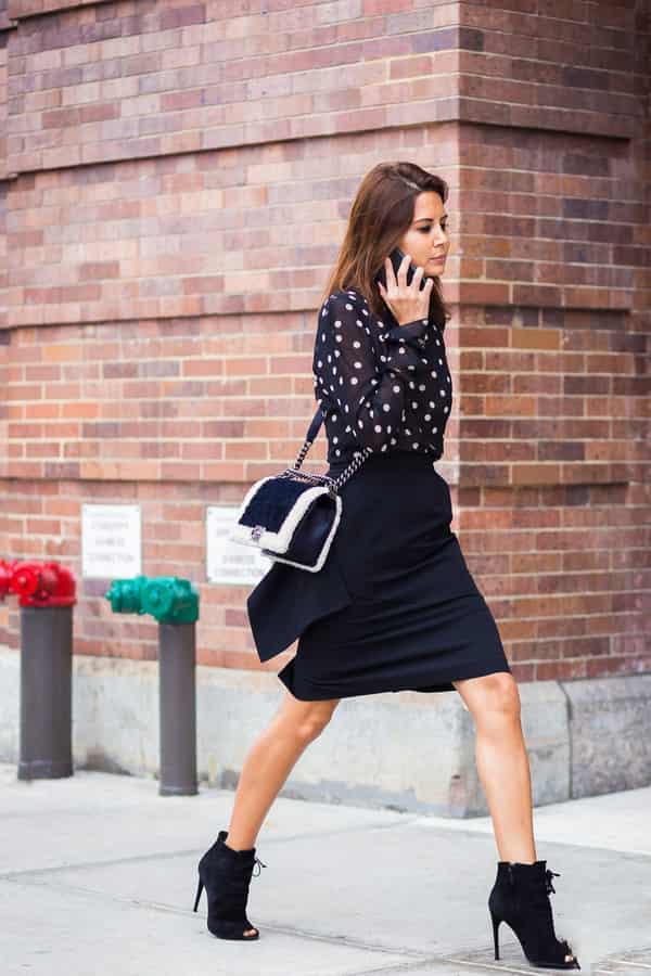 半身裙配什么鞋子 完美搭配什么身高都能穿出大长腿