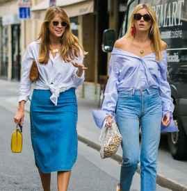 半身裙配什么鞋子 完美88必发国际什么身高都能穿出大长腿