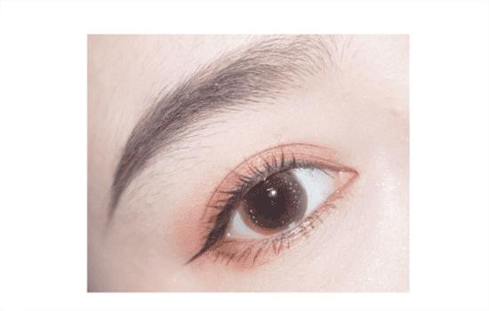 三色眼影的画法步骤图 三色眼影也能画出精致眼