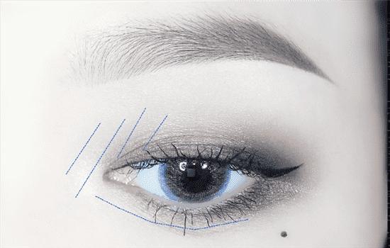 湿又野眼影教程 湿又野最新十色眼影盘画法