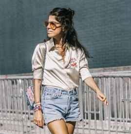 短袖衬衫搭配短裤 教你整个夏日浪漫穿搭不重样