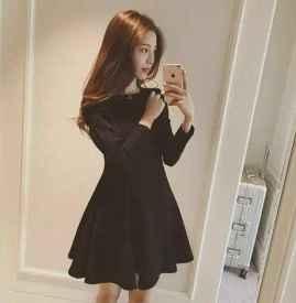 夏天裙子怎么搭配图片 看看韩国mm怎么穿吧