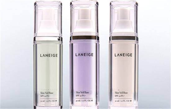 兰芝隔离霜紫色和绿色的区别 看看哪一款更适合你吧