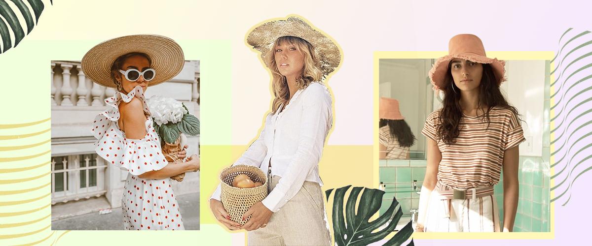 作为夏天必刷街的时髦单品,草帽不仅是提高吸睛指数的绝佳利器,还能防晒,炎炎夏日,没有一顶草帽凹造型,都不好意思说自己是时髦精了呢!