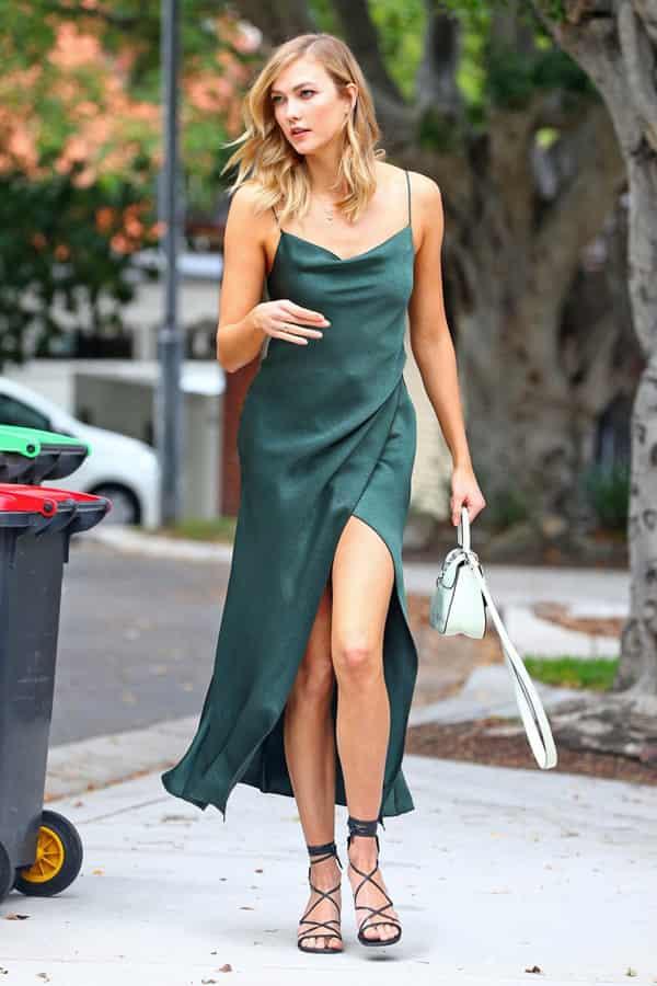 吊带连衣裙搭什么鞋子 清爽又撩人夏日这么穿就够了