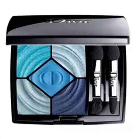 Dior夏季限量眼影怎么用夏日里的一抹藍