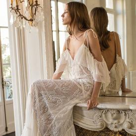 婚纱怎么穿 婚纱你要这样穿才对