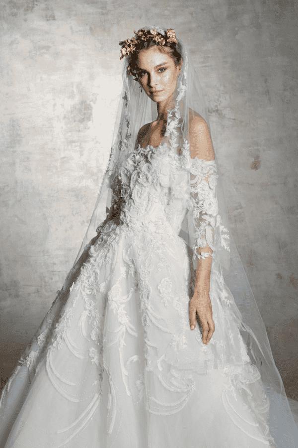 Marchesa春季婚纱系列 谁说婚纱只能穿一次