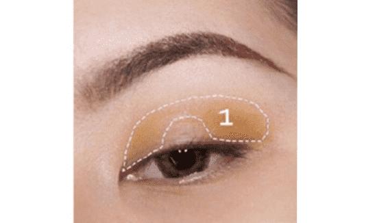 暖黄色眼妆画法 适合夏天的黄色眼妆
