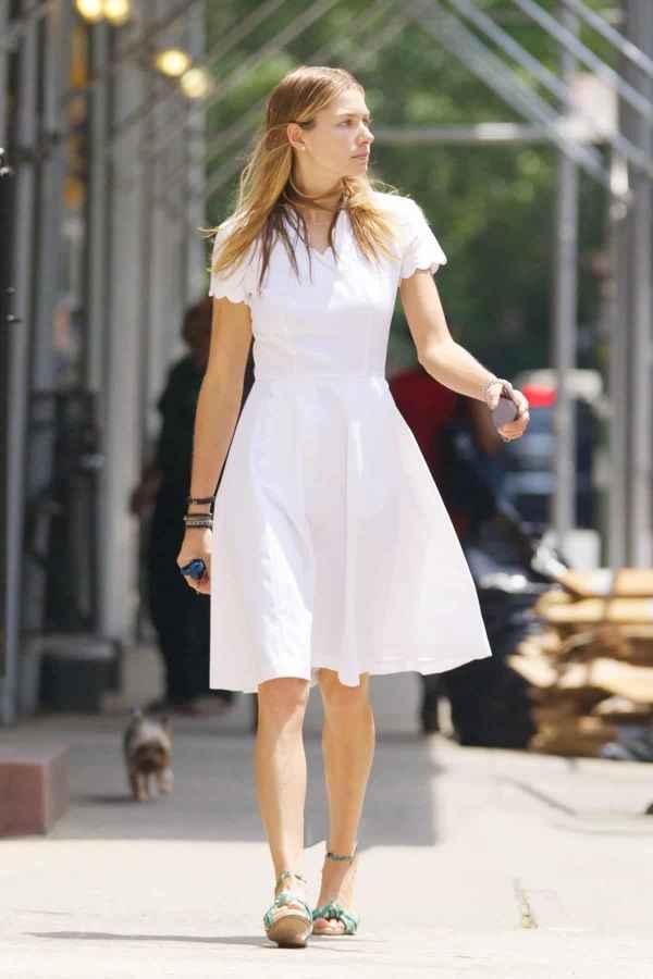 小个子连衣裙穿搭 这样穿显高又女神
