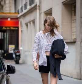 黑色短裤配什么鞋  他们才是天生一对