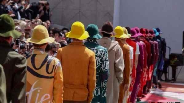 渔夫帽Logo 渔夫帽与标志时尚的浑然天成