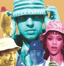 漁夫帽嘻哈 嘻哈殿堂的時尚風向標