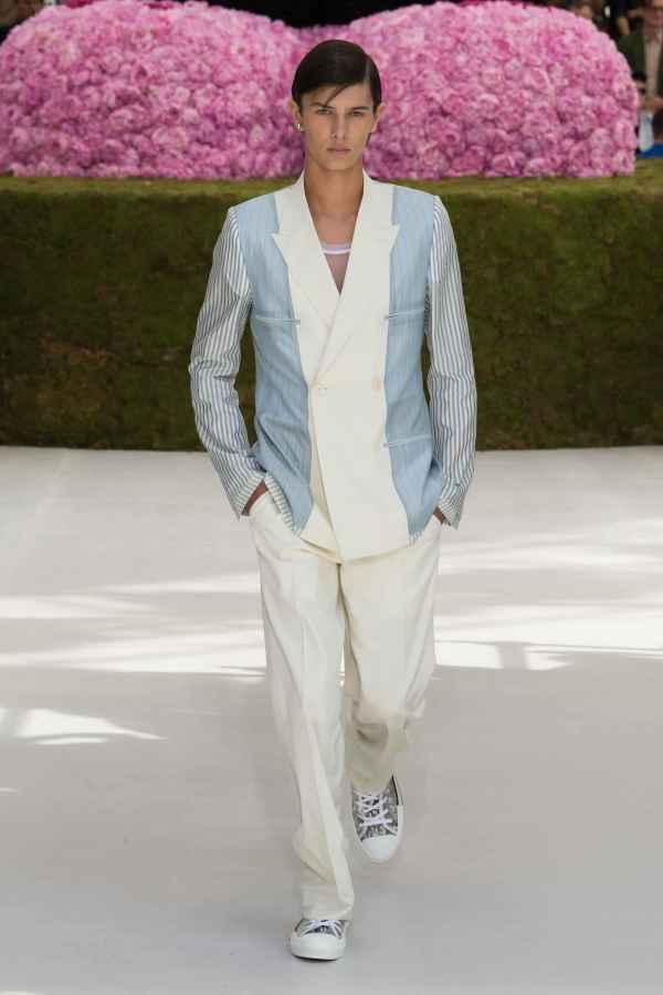 Dior Homme 2019春夏系列发布 牵手KAWS