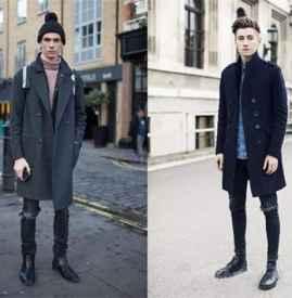 男生冬天破洞牛仔裤怎么搭配 反季节搭配的最强单品