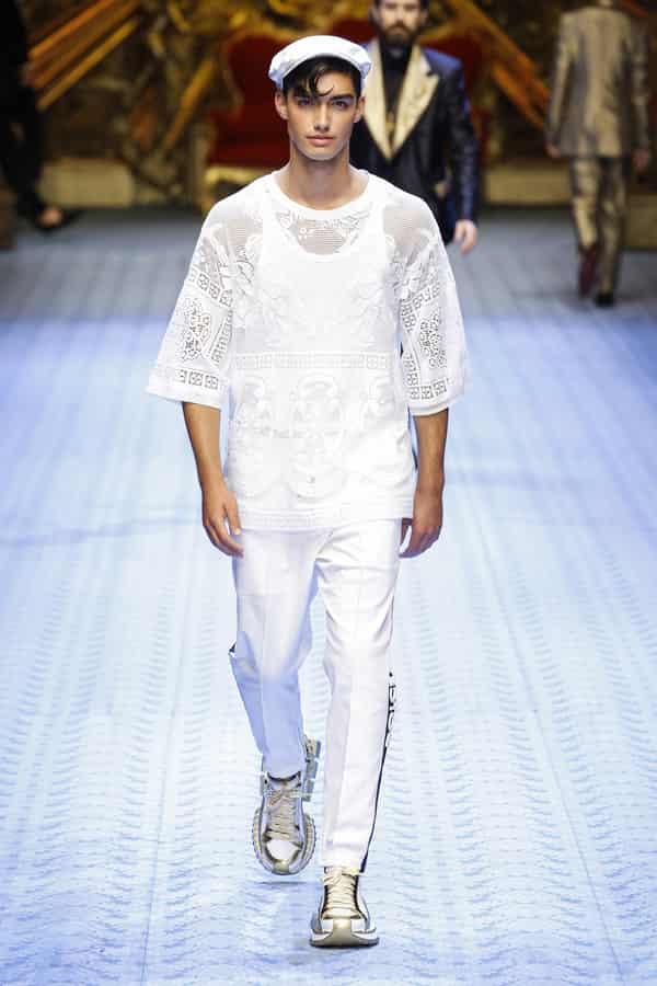 Dolce&Gabbana 2019春夏男装系列 低调奢华感