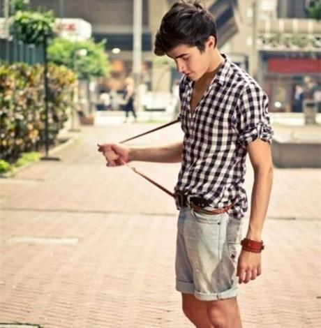 男生夏季怎么穿搭 清爽风格打造今夏时?#34892;?#30007;
