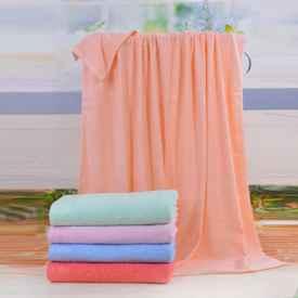 毛巾被发硬怎么变柔软