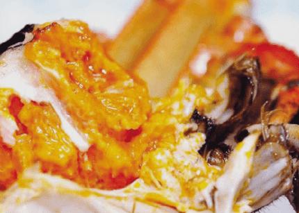 大闸蟹最有营养的地方 蟹黄补骨添髓、养筋活血