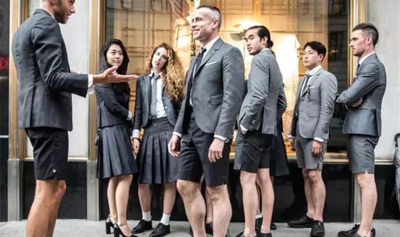 百慕大短裤搭配男 办公室优雅男专属搭配