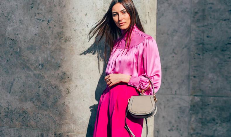 粉色衣服如何搭配