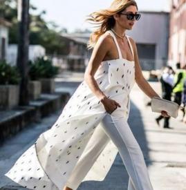 秋装连衣裙如何搭配 裙子+裤子才是2018年最时髦的穿法