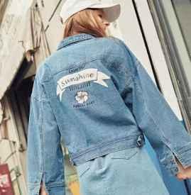 秋天女穿什么牛仔衣好看 5款牛仔外套送给想当时髦精的你
