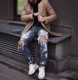 腿粗男生什么牛仔褲好看