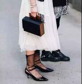 秋天女生穿什么袜子好看 秋天少不了它这个10块钱的东西