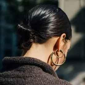 脸大的女生适合什么耳环 脸胖就让它帮你挡一挡