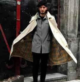 秋冬男生风衣怎么搭配 风衣穿得对就是男神