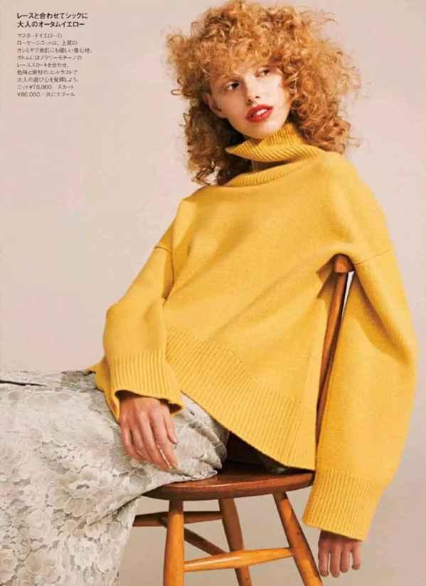 分享毛衣+半裙多样搭配 从初秋穿到深冬保暖又时髦!