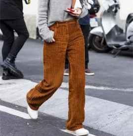 秋冬阔腿裤怎么搭配上衣 今年秋冬阔腿裤又双叒叕升级了