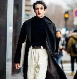 男士秋冬高领针织衫怎么搭配 高领针织衫保暖与搭配共存的选择