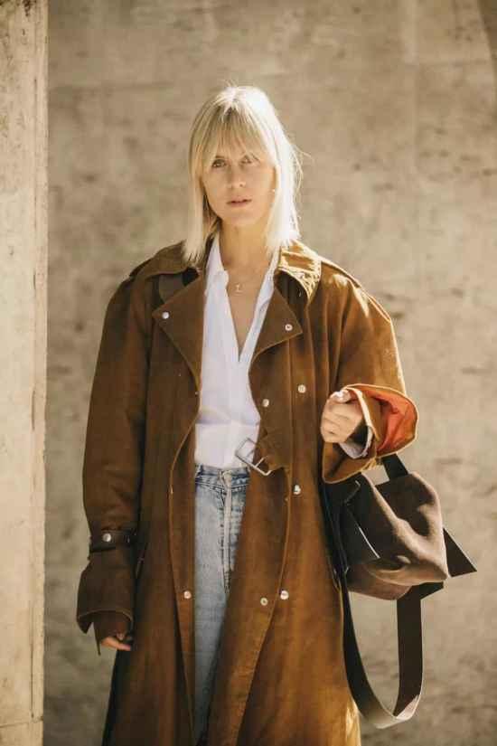女生大衣怎么穿好看 大衣就是要敞开穿才好看