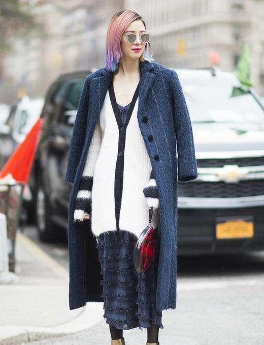 冬季穿衣服搭配技巧 今年冬天是叠穿的天下