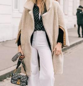 羊羔毛外套怎么挑选 比大衣和羽绒都保暖时髦的单品