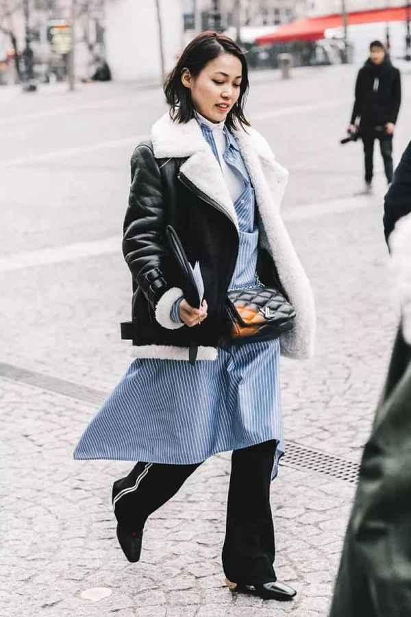 羊羔毛外套配什么好看 羊羔毛外套冬季最拉风保暖的单品