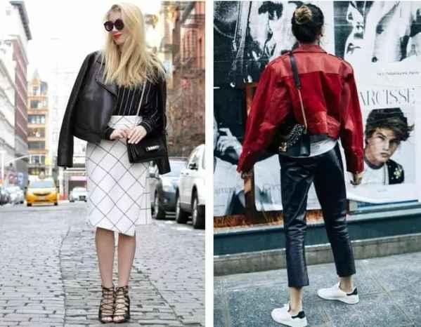 女生怎么穿搭最酷? 皮衣是酷女孩该有的样子