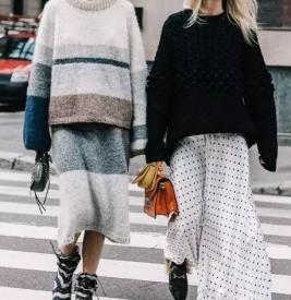今年冬天流行什么外套衣服 外套穿大不穿小才够味