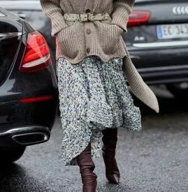 冬天怎么穿裙子不冷 有了這些誰說冬天不能穿裙子