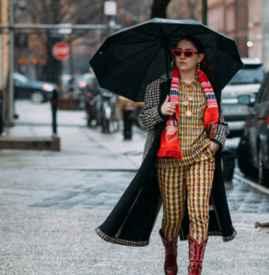 矮胖女人冬季穿衣搭配 优雅大气勾勒好身材