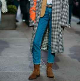長款大衣怎么搭配牛仔褲 街頭率性優雅迷人一次性全滿足