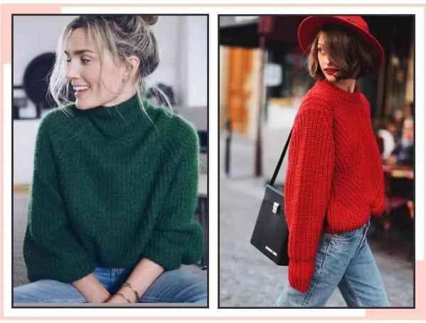 毛衣怎么穿 毛衣里面穿什么衣服好看?