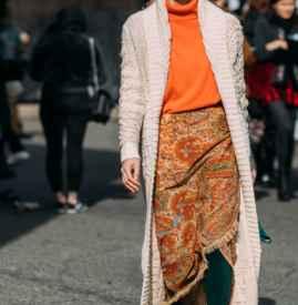 針織衫外套怎么搭配 做溫暖柔軟的優雅淑女