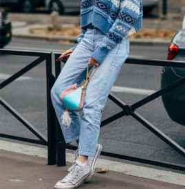 針織衫牛仔褲怎么搭配 優雅美麗大長腿氣場滿分/