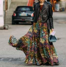 高个子穿什么半身裙 化身九头身魅力尤物