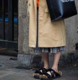 半身长裙配什么鞋子 个性混搭风用脚走出来